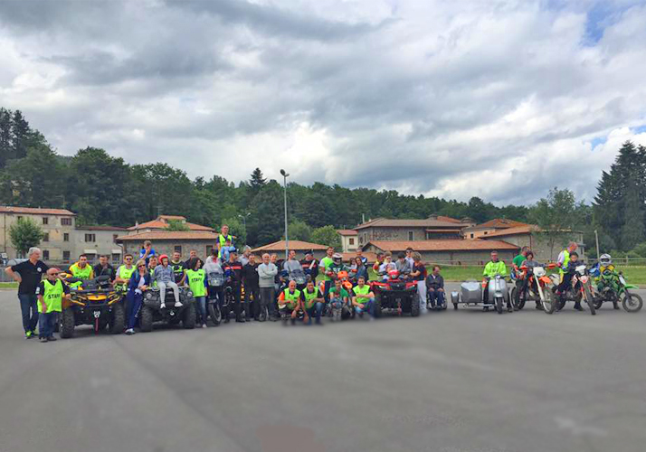 Mototerapia Lake's Bikers