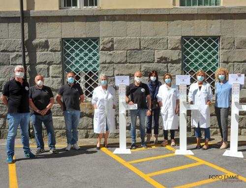 Donazione del Motoclub all'ospedale di Castelnuovo di Garfagnana